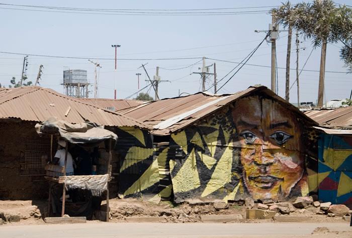 Korogocho slum Nairobi