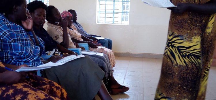 Community Health Volunteer training update