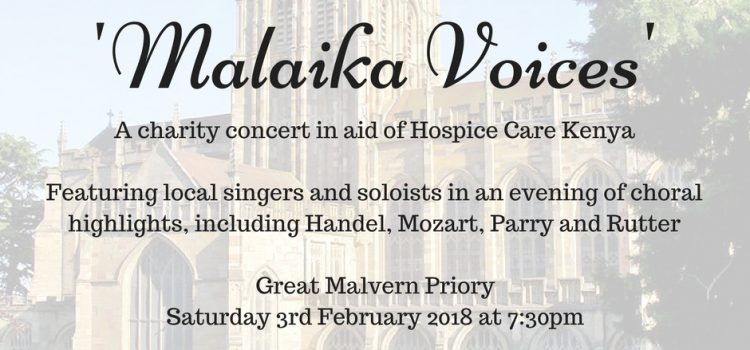 Great Malvern Priory charity concert