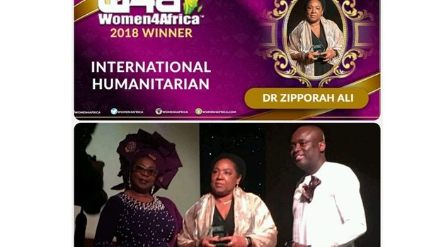 Women4Africa Humanitarian Award for KEHPCA's Dr Zipporah Ali