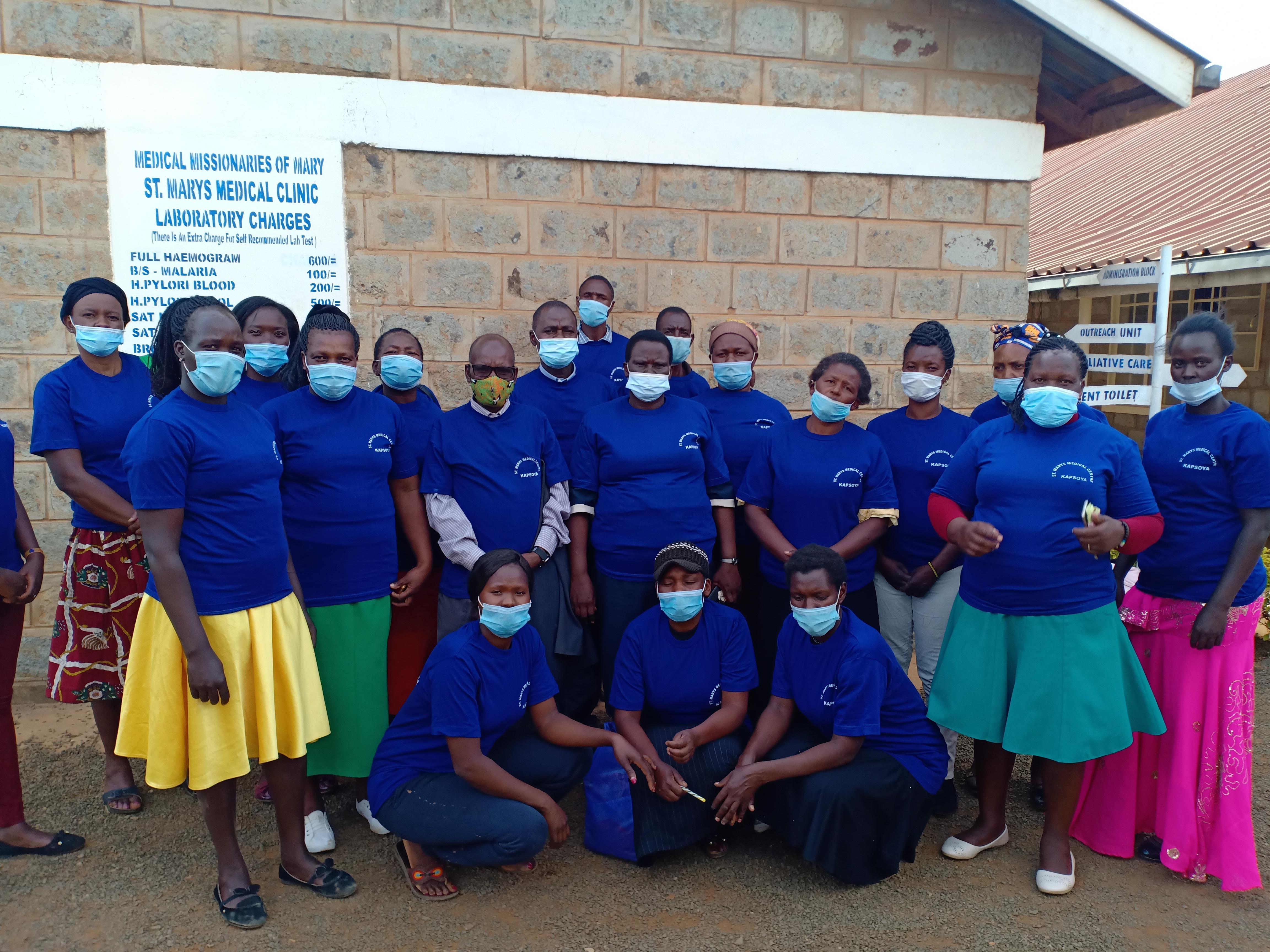 Volunteers changing lives in Eldoret